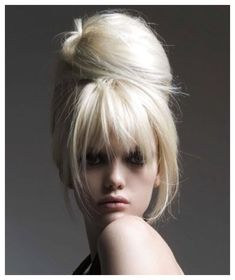 upstyles for thick bangs in this blog.