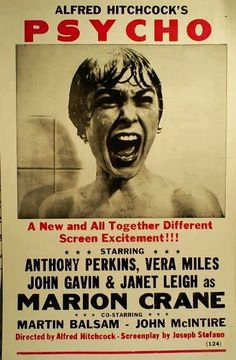 Janet Leigh, Psycho (1960).---------I was married with children before I could…