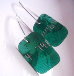 Make jewelry from credit cards