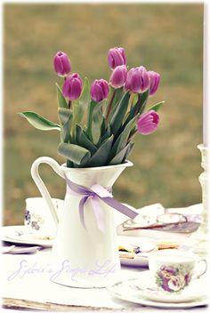 Весна Послеобеденный чай
