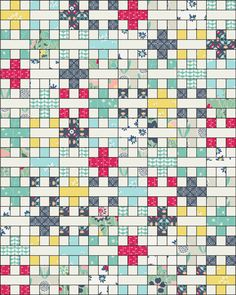 In Color Order: Abundance Free Quilt Pattern