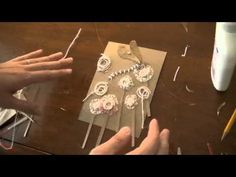 Printmaking Demo: How to Make a Mat Board Collagraph - YouTube