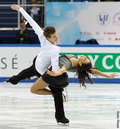 Elena Ilinykh & Nikita Katsalapov (Russia) (photo credit: Robin Ritoss)