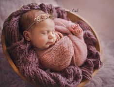 Dusty Pink Lace and Mohair Newborn Baby Girl Swaddle Wrap SET, Mauve Baby Layering Fabrics, Pastel Knit Wrap Blanket Bundle MISS MUFFET