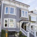 Cow Hollow Home Gets a Pro Makeover — House Tour | Apartment Therapy. Gray paint colors.