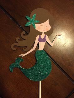Birthday Crafts, 1st Birthday Parties, 2nd Birthday, Mermaid Board, Mermaid Party Decorations, Mermaid Crafts, Bday Girl, Beach Christmas, Mermaid Birthday