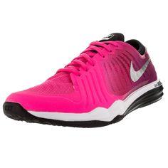Nike Women's Dual Fusion Tr 4 Print / Silver/Dynmc Brry Training Shoe