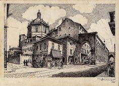 Le Colonne di San Lorenzo, Milano, 1935