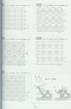 Crochet 2 - Marianna Lara - Álbuns da web do Picasa Crochet Stitches Chart, Crochet Diagram, Crochet Blanket Patterns, Crochet Motif, Baby Blanket Crochet, Stitch Patterns, Crochet Patterns Free Women, Crochet Designs, Crochet Wool