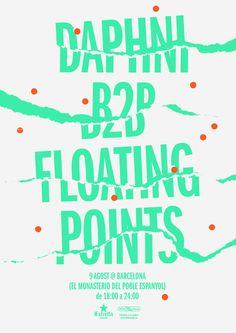 Daphni b2b Floating Points - Arnau Pi