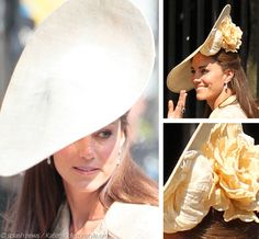 What a GORGEOUS hat!!!! I'm in love. If I ever go to the Kentucky Derby, I'm wearing this hat.