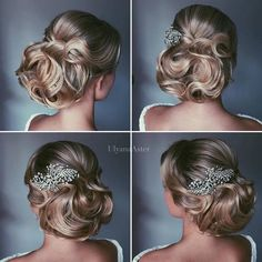 Wedding Updo Hairstyles for Long Hair from Ulyana Aster_24 ❤ See more…