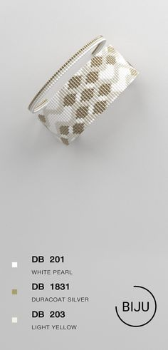 US$4.72 Loom bracelet pattern, loom pattern, miyuki pattern, square stitch pattern, pdf file, pdf pattern, cuff #20BIJU
