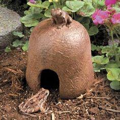 Toad House -- $19.99... I need a toad for slug control!!!