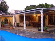 Gramarye Guest House - A comfortable and secluded guest house situated in Westville, set in a large park-like garden. Relaxing on the patio next to the swimming pool with the sounds and sight of our abundant bird life, it is ... #weekendgetaways #durban #southafrica