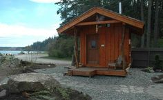 Guemes Island Resort - Enjoy the Anacortes Islands with the updated charm of an traditional fishing camp Portable Steam Sauna, Wood Tub, Saunas, Island Resort, Outdoor Stuff, Tree Houses, Tubs, Finland, Outdoor Spaces