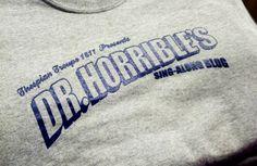 Kearney High Thespian's Troupe 1811- Dr. Horrible's Sing Along Blog - theater - theatre - acting - apparel - t-shirt - tee shirt - design - screen print - screenprint - Kearney, NE - Shirt Shack - http://shirtshackkearney.com