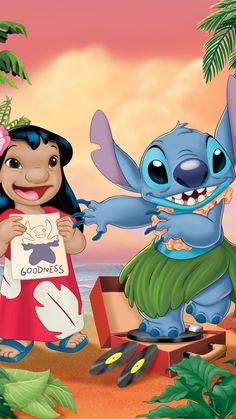 Disney Stitch, Lilo Stitch, Lilo And Stitch 2002, Lelo And Stitch, Stitch Cartoon, Nature Iphone Wallpaper, Cute Wallpaper Backgrounds, Cute Cartoon Wallpapers, Animes Wallpapers