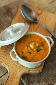 Fish Recipes, Real Food Recipes, Great Recipes, Soup Recipes, Healthy Recipes, I Love Food, Good Food, Food C, Portuguese Recipes