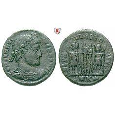 Römische Kaiserzeit, Constantinus I., Follis 330-334, f.ss: Constantinus I. 307-337. AE-Follis 17,7 mm 330-334 Cyzikus. Drapierte… #coins