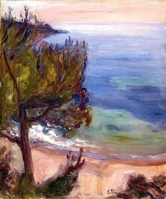 """bofransson:    A Pine Edvard Munch - 1892 You see - Munch didn't always """"Scream"""", here is a work from one of his more peaceful moments."""