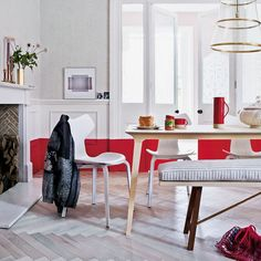 Red decorating: 5 on-trend ideas