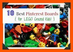 10 Best Pinterest Boards for LEGO Crazed Kids