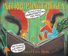 """Last week one of our social skills lessons started with a read aloud of """"Interrupting Chicken"""" by David Ezra Stein. This is a great book t. Funny Books For Kids, Kid Books, Story Books, Baby Books, Leader In Me, Listening Skills, Listening Ears, Active Listening, Mentor Texts"""