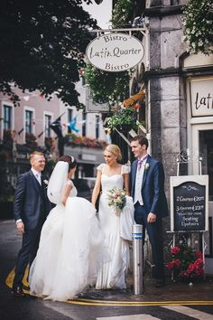 Romantic Galway City Summer Wedding by Michelle BG Photography Wedding Story, Wedding Blog, Our Wedding, Wedding Venues, Summer Wedding, Real Weddings, Irish, Table Decorations, City