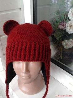 Шапки мишки с снудом Winter Hats, Crochet Hats, Fashion, Knitting Hats, Moda, Fashion Styles, Fashion Illustrations