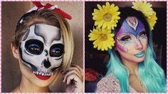 2 vídeos paso a paso para hacer maquillajes de Halloween, ¿con cuál te quedas!