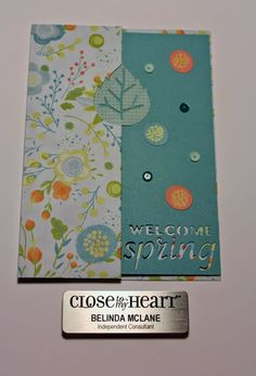 My Creative Happy Place: April's Stampers with An Attitude - Spring Has Sprung Blog Hop #Blossom #ArtfullySent