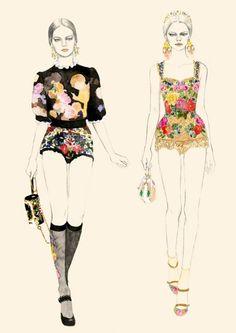 Fashion Illustration Technique by Kelly Smith! Amazing fashion ...