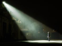 Selected Visibility - Presentational lighting, clearly focusing on the individual.