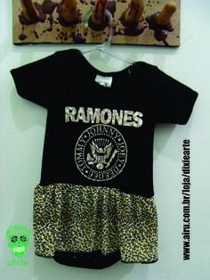 Body Saia Ramones  www.airu.com.br/loja/dixiearte
