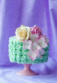 Decoration Cake / White Chocolate Mini Cake