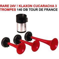 KLAXON 24V ! TOUR DE FRANCE CUCARACHA! KLAXON ITALIEN 3 T