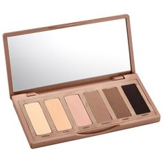 Shop Naked Basics Eyeshadow Palette by Urban Decay at MECCA. A palette of flattering, matte eye shadow pigments to define, highlight & contour eyes. Urban Decay Eyeshadow Palette, Neutral Eyeshadow, Best Eyeshadow, Naked Palette, Matte Eyeshadow, Urban Decay Makeup, Drugstore Eyeshadow, Estee Lauder Double Wear, Beauty Blender