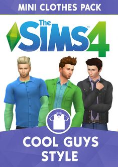 Cool Guys Style Mini Pack by cepzid at SimsWorkshop • Sims 4 Updates