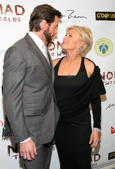 Hugh Jackman and Deborra-Lee Furness Pictures | POPSUGAR Celebrity