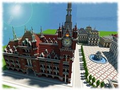 Vitruvian City Minecraft Project