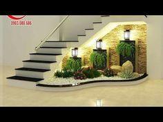 contemporary home indoor plants decor ideas modern home interior design trends, home wall decoration ideas 2020 Staircase Wall Decor, Stair Decor, Staircase Design, Wall Design, House Design, Modern Home Interior Design, Interior Ideas, Modern Stairs, Interior Garden