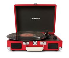 Pin for Later: What to Buy Your Man This Valentine's Day  Crosley Radio Cruiser Turntable (£56)