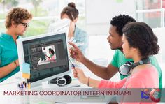 MARKETING COORDINATOR INTERN IN MIAMI  Company seeks talented marketing intern to develop and promote engagement of consumers on social media, assist marketing strategies and support branding team. Knowledge of SEO , Proficiency in Microsoft Office Suite, and Adobe product Suite a plus. Salary: 1,100$/Month Apply Now: http://the-isc.com/francais/offres-stages-USA-the-isc.php Reference: MIA14244