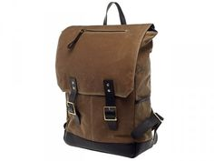 Fuller British Tan Wax Rucksack