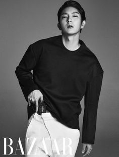 Lee Jun Ki Harper's Bazaar Magazine July Issue '14