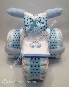 Image result for motorcycle diaper cake