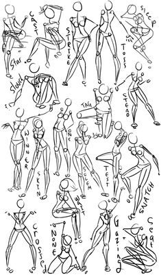 Female Power Poses -Anatomy 2 by Oriors.deviantart.com on @deviantART