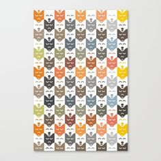 #dogs #pattern #husky #animal #pet #graphic #dog #fashion #style #canvas #print #poster