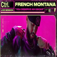 "Vevo announces French Montana as the next artist in their Ctrl.At.Home series with a performance of ""YOU DESERVE AN OSCAR"" premiering today. 'YOU DESERVE AN OSCAR' follows the previously released 'FTMU.' Vevo's Ctrl series highlights Fat Joe, Lil Durk, Hip Hop Videos, Rick Ross, French Montana, Global Citizen, You Deserve, Rap, Highlights"